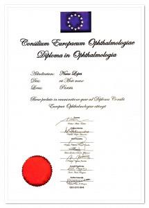 Diploma EBO